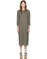 Isabel Marant Grey Cara Knit Dress