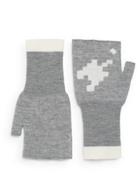 Band Of Outsiders Fingerless Wool Gloves
