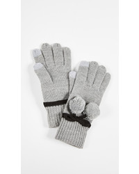 Kate Spade New York Bow Pom Gloves