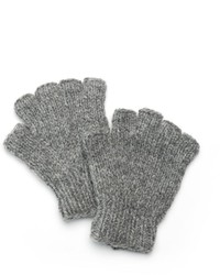 Sijjl Snowflake Wool Fingerless Gloves