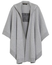 Dejlig Burberry Carla Hooded Knit Poncho, $1,595 | Nordstrom | Lookastic.com GB-48