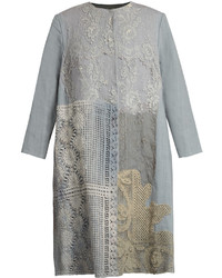 By walid 19th century lace panelled linen coat medium 6447863