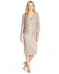 Alex Evenings Lace Dress Jacket