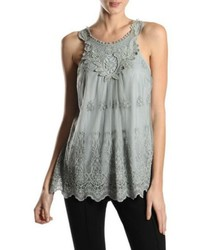 Areve lace sleeveless top medium 1211241