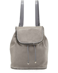 How to Wear a Grey Leather Backpack (11 looks) | Women's Fashion