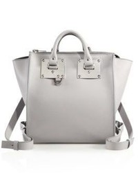 Sophie Hulme Small Holmes Leather Backpack