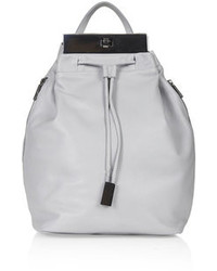 Women's Grey Leather Backpacks by Topshop | Women's Fashion