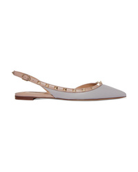 Valentino Garavani The Leather Slingback Flats