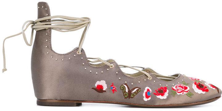 Ash Indra Ballerina Shoes