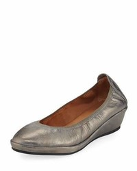 Gentle Souls Natalie Stretch Demi Wedge Ballerina Shoe