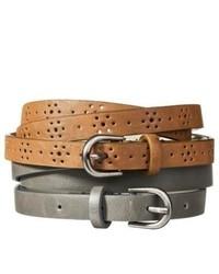 Adesso Mossimo Supply Co Grey Belt M