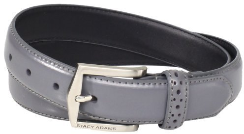 Stacy Adams Big Tall 30 Mm Pinseal Leather With Pinhold Design On Keeper