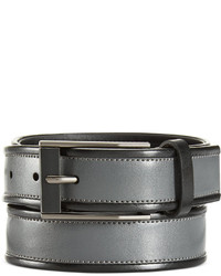 Calvin Klein Contrast Edge Leather Belt