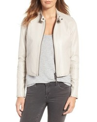 Rebecca Minkoff Neva Leather Moto Jacket