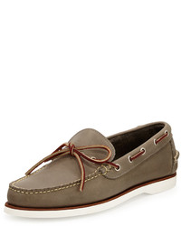 Eastland Made In Maine Yarmouth Leather Boat Shoe Charcoal