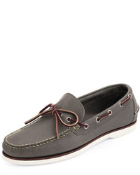 Eastland Made In Maine Yarmouth Usa Leather Boat Shoe Charcoal