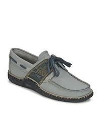 Tbs globek grey boat shoes medium 175972