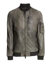Hudson Jeans Hudson Leather Bomber Jacket