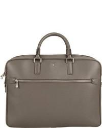 Serapian Evolution Double Handle Briefcase Grey