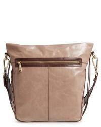 Banyon calfskin leather bucket bag brown medium 5308604