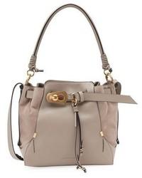 Chloe owen medium leather bucket bag medium 3697674