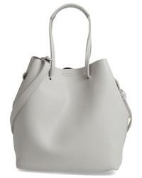 Faux leather bucket bag black medium 4136448