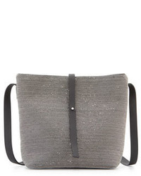 Brunello Cucinelli Medium Monili Bucket Bag Ruthenium