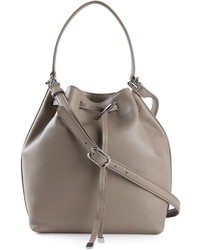 Tory Burch Toggle Drawstring Bucket Bag