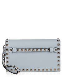 Valentino Rockstud Small Leather Clutch