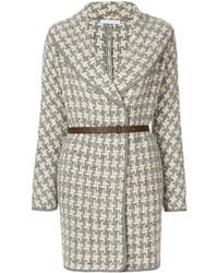 Patterned belted coat medium 5275779