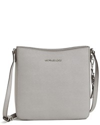 1c8a6507f943 How to Wear a Grey Leather Crossbody Bag (193 looks   outfits ...