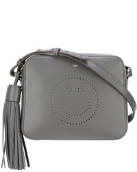 Anya Hindmarch Perforated Smiley Crossbody Bag
