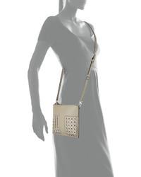 cb905dab9ee7 ... Tory Burch Block T Grommet Mini Crossbody Bag French Gray ...