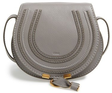 0fa7248e575 $890, Chloé Chloe Mini Marcie Leather Crossbody Bag