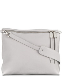 Jil Sander Double Zip Cross Body Bag