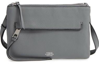 deb47af54 Vince Camuto Gally Leather Crossbody Bag Black, $105 | Nordstrom ...