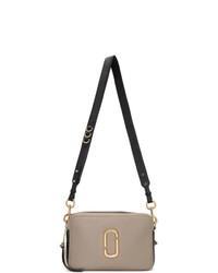 Marc Jacobs Grey And Black The Softshot 27 Bag