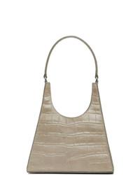 Staud Grey Croc Rey Bag
