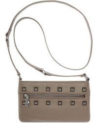 INC International Concepts Inc Lexi Leather Crossbody Bag