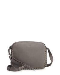 c5380fb86d0da Women s Grey Leather Crossbody Bags by AllSaints