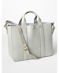 Gap Leather Tote Crossbody