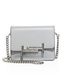 Tod's Mini Double T Leather Chain Crossbody Bag
