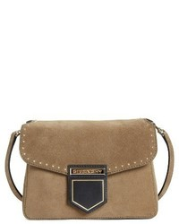 Givenchy Small Nobile Leather Crossbody Bag Green