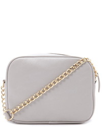 Forever 21 Zipper Faux Leather Crossbody