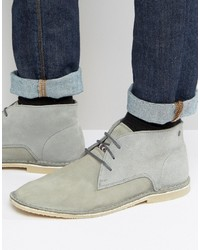 Jack jones damon desert boots in leather medium 3706955