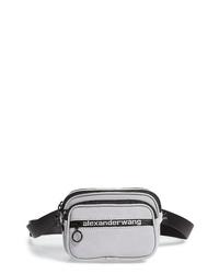 Alexander Wang Attica Logo Leather Belt Bag