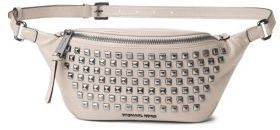 078347df72a0e9 MICHAEL Michael Kors Michl Michl Kors Studded Leather Fanny Pack .