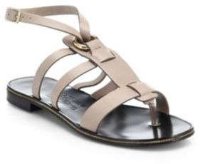 Salvatore Ferragamo Flat Sandals Cheap Pay With Visa Clearance How Much Low Cost ZX9oh0Xg