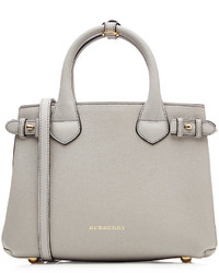 Burberry Shoes Accessories Small Banner Leather Tote