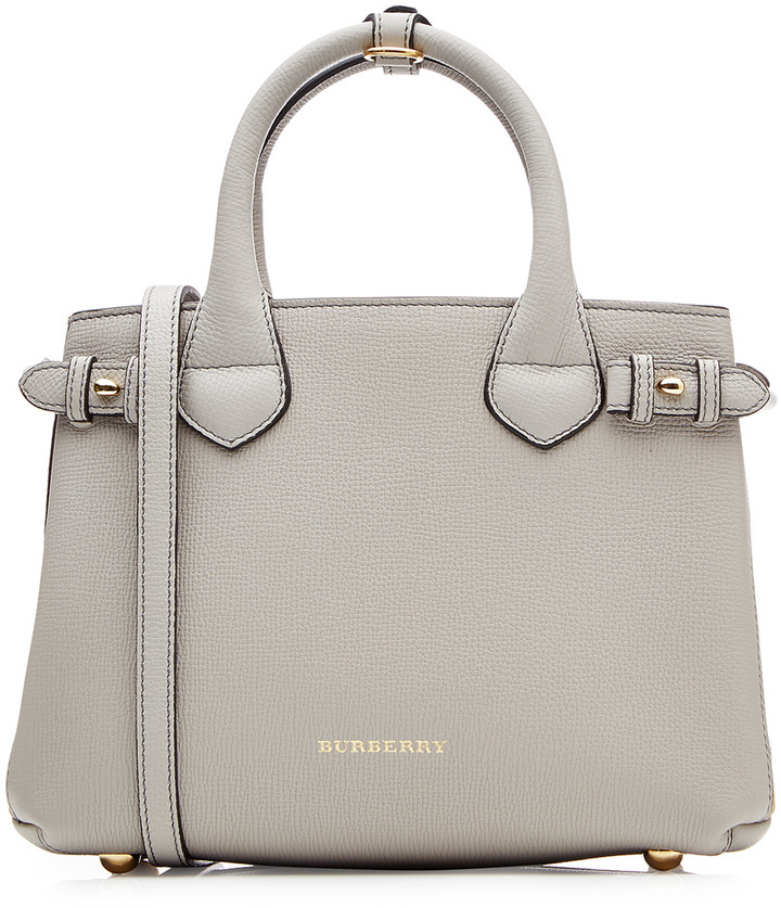 6a9dcd466b07 ... Burberry Shoes Accessories Small Banner Leather Tote ...